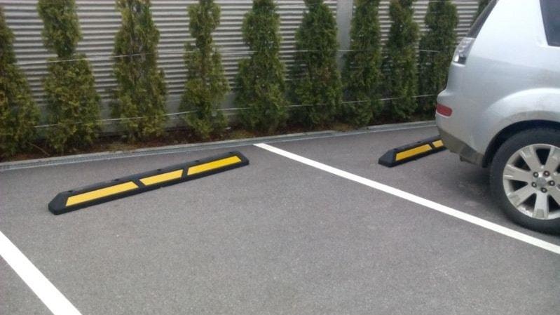 Паркинг стопер ограничител за паркомясто